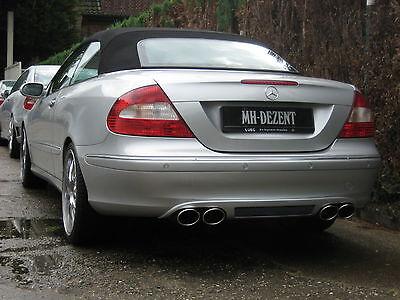 MH-DEZENT Heckblende PERFORMANCE-LINE Mercedes  CLK 500 CLK 350 CLK 200  W209