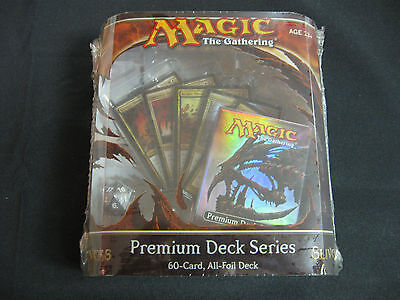 Magic MTG Slivers Premium Foil Deck Factory Sealed English