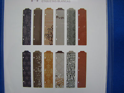 (Project Life By Becky Higgins Designer Dividers Cinnamon Edition 12-Pk 380031)