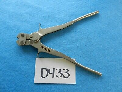 Howmedica Surgical Orthopedic Dall Miles Crimp Instrument 6704-9-100