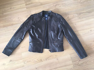 Women's G Star RAW Leather Jacket - Black M Vaucluse Eastern Suburbs Preview