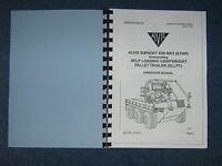 British Army Supacat 6 X 6 Mk3 Atmp Operator Manual. User Guide -  - ebay.co.uk