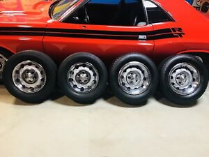 Mopar Rally Rims Wheels Original 15 inch & 14 inch