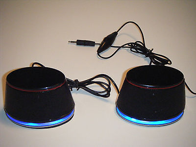 3 Sets USB Powered Speakers, Gaming, Laptops, PC's  Plug & P