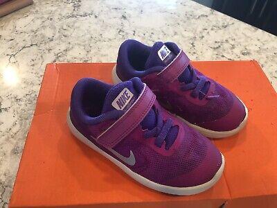 Toddler Girls Nike Revolution Shoes Size 8C -  GUC