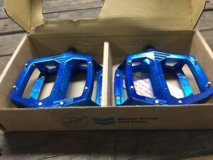 Dark blue anno haro fusion bmx platform pedals Geelong Geelong City Preview