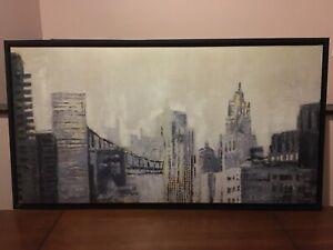 New York City Skyline Painting