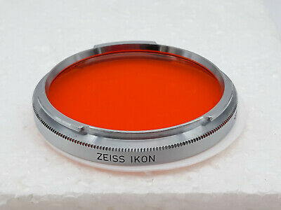 Filtre ZEISS IKON Orange filter B56 3x LW -1,5 for Contarex (ref 20.1063)