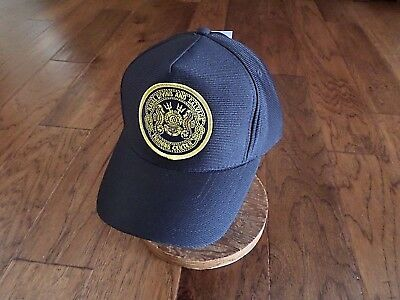 U.S NAVAL DIVING AND SALVAGE TRAINING CENTER HAT OFFICIAL MILITARY BALL CAP USA