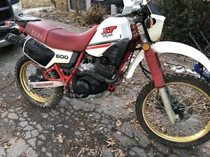 1984 XT600 enduro dual purpose motorcycle