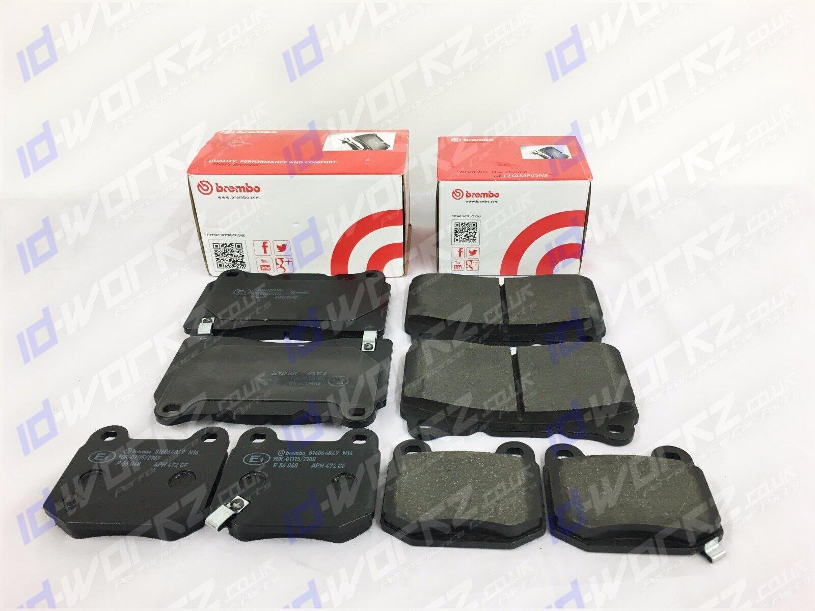 For Mitsubishi Lancer evolution 2.0 turbo evo 6 7 8 9 Rear brake pads Brembo OEM