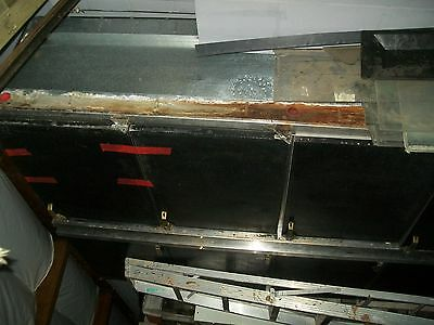 """BACK BAR  BEER COOLER, NO TOWER  1O8""""  GLASS TENDER  S/S TOP 115 900 ITEMS E BAY"""