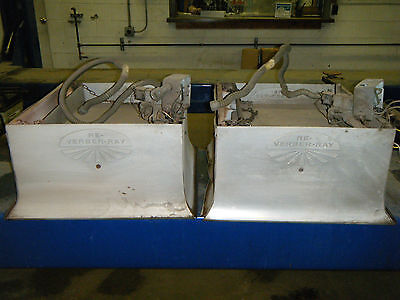 4 Used Re Verber Ray Gas Heaters