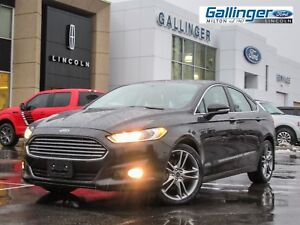 2014 Ford Fusion TITANIUM w/MOONROOF, NAVIGATION, AND HEATED STE