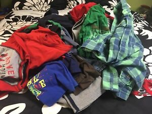 Boys 5T 2 boxes of clothes