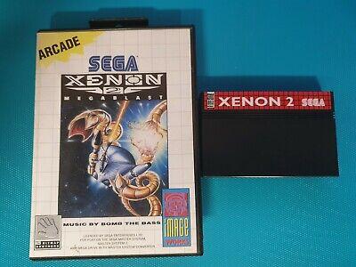 SEGA MASTER SYSTEM : xenon 2 megablast