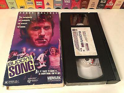 * Buddy's Song Rare British Music Drama VHS 1991 Roger Daltrey Chesney Hawkes