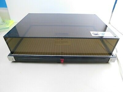 Vtg Heated Culture Box Petri Dish Medical Science Planting Lab Equipment