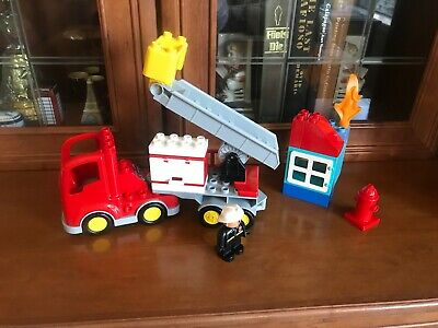 Lego Duplo Fire Engine Truck Firetruck Figure Replacement Lot