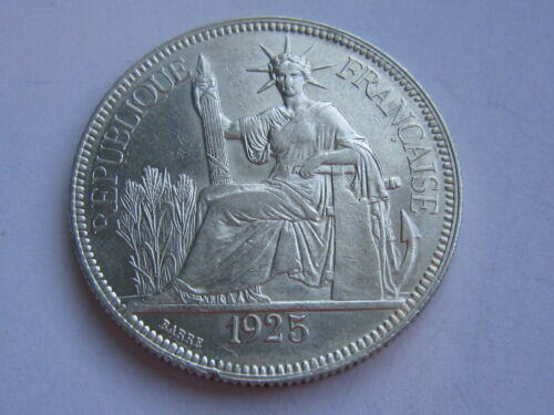 1925 FRENCH INDOCHINA Silver Coin