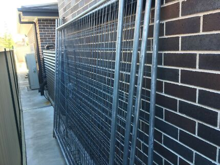 Temporary Fencing RapidMesh (Used)
