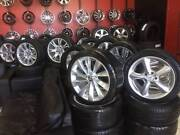 USED WHEEL AND TYRE PACKAGE MERCEDES AUDI BMW VW START $300 Fawkner Moreland Area Preview