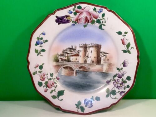 Antique French Faience Plate c.1800