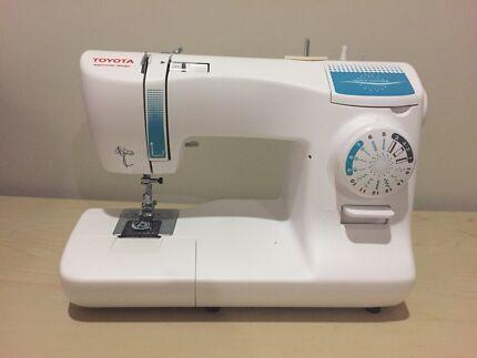 Toyota SP10 Sewing Machine & Sewing Box