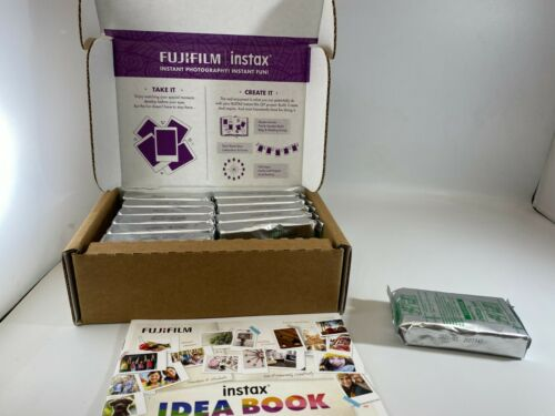 FUJIFILM INSTAX MINI FILM 120 SHOTS NEW AND SEALED