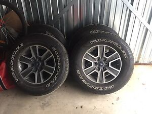 2017 f150 rims and tires brand new