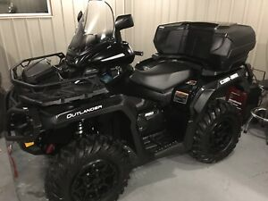 2017 Can Am Outlander  xtp with tracks RS4