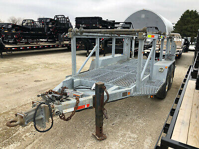 Sauber 3x Or 4x Reel Trailer Lift And Storage Galvanized. Gvwr 23500