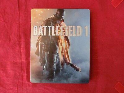 Battlefield 1 Steelbook Steel Box (leer, ohne Spiel) (NEU)