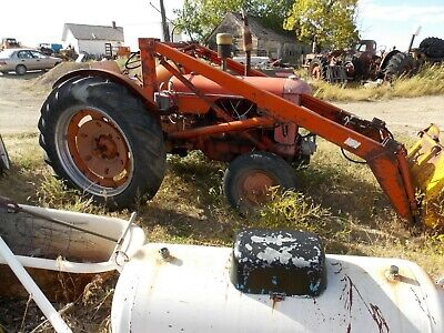 Dc Case Antique Tractor