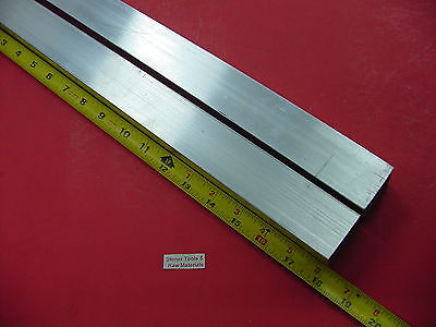 2 Pieces 1-12x 1-12x 18 Wall X 18 Long Aluminum Square Tube 6063 T52