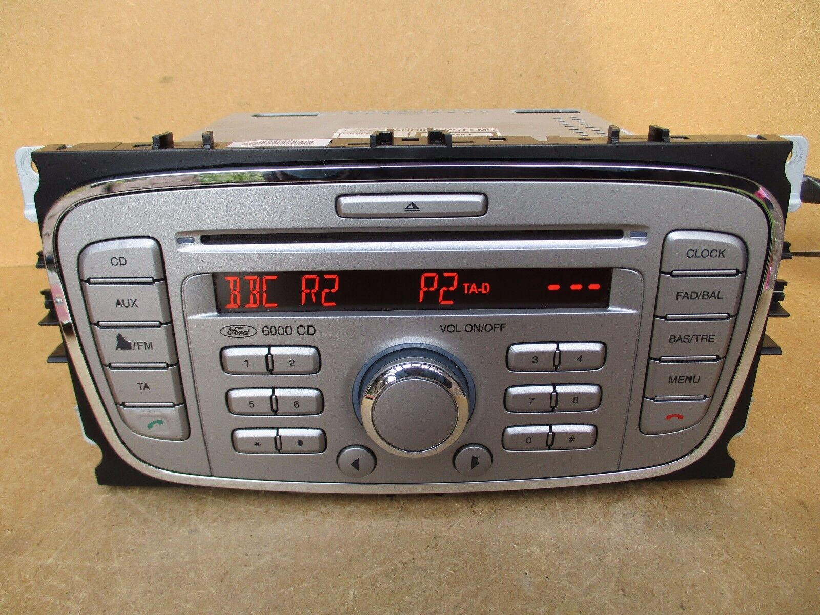 ford focus s max c max mondeo radio stereo 6000 cd player. Black Bedroom Furniture Sets. Home Design Ideas