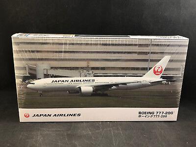 Hasegawa Japan Airlines Boeing 777-200 1:200 Scale Plastic Model Kit 10714 NIB for sale  Hiawassee