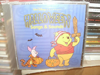 POOH HALLOWEEN,HALLOWEEN SONGS AND SOUNDS,WALT DISNEY - Halloween Songs And Sounds