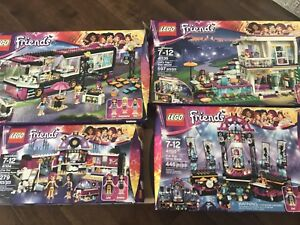 Collection Lego friends pop star