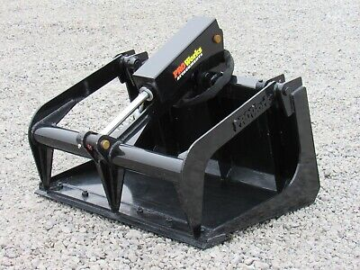 36 Solid Bottom Bucket Grapple Attachment Fits Toro Dingo Mini Skid Steer
