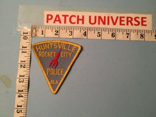 VINTAGE HUNTSVILLE ROCKET CITY ALA POLICE  SHOULDER PATCH  F065