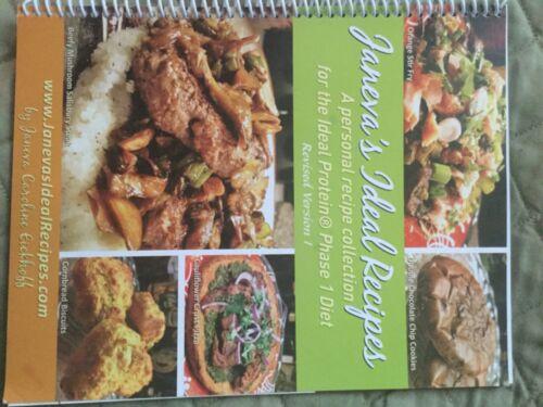 Janeva's Ideal Protein Recipe Book