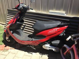 Red dress dash 7 scooter