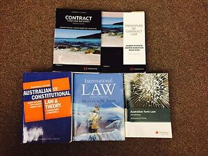 Law textbooks for sale ! Hobart CBD Hobart City Preview