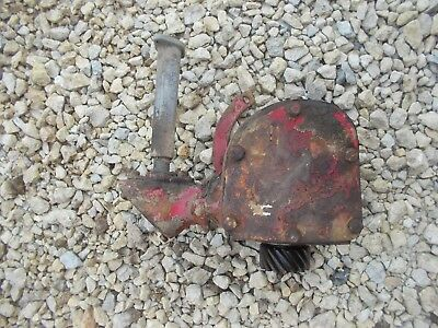 Farmall H Hv Early Sh Tractor Origiinal Ih Engine Motor Governor Assembly Case