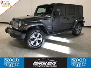 2016 Jeep Wrangler Unlimited Sahara 4X4, REMOVABLE ROOF, REMO...