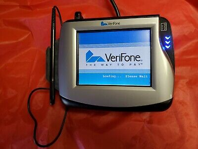 Verifone Mx870 Terminal Credit Card Reader With Stylus Usb And Power Cables