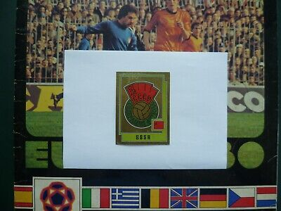 Panini Europa 80 Football EC stickers cards Bilder badges SSSR CCCP Russia # 249