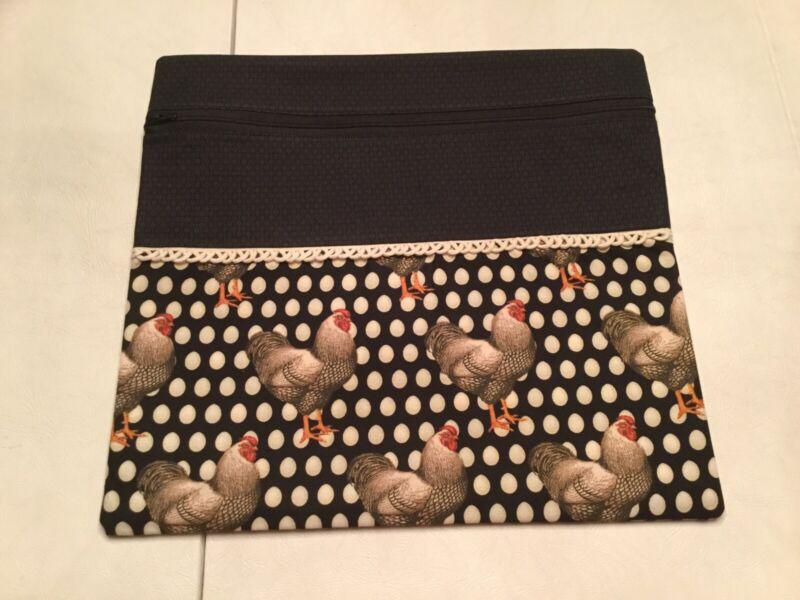 Handmade Cross Stitch Project Bag