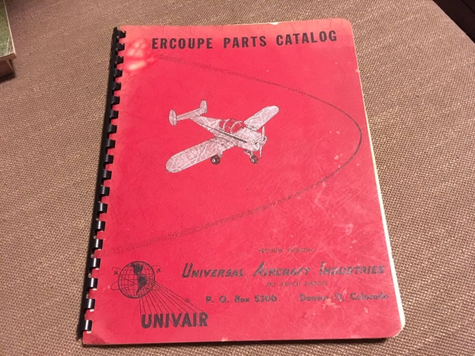 ERCOUPE Airplane Service Owners Manual  All Models!